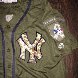 830dd929c Majestic Shirts | Mens L Aaron Judge Salute To Service Jersey | Poshmark